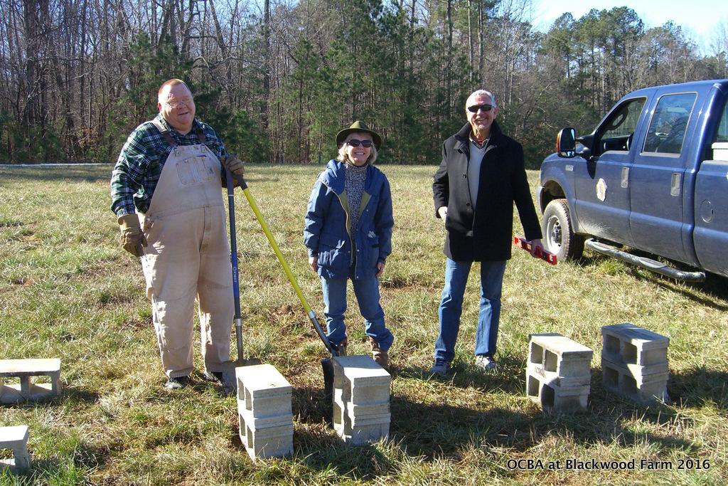 OCBA Demo Hives at Blackwood Farm Park 5