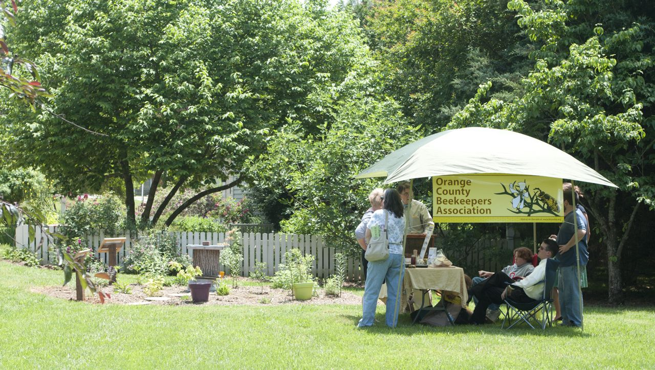 Dickson House Pollinator Garden Dedication