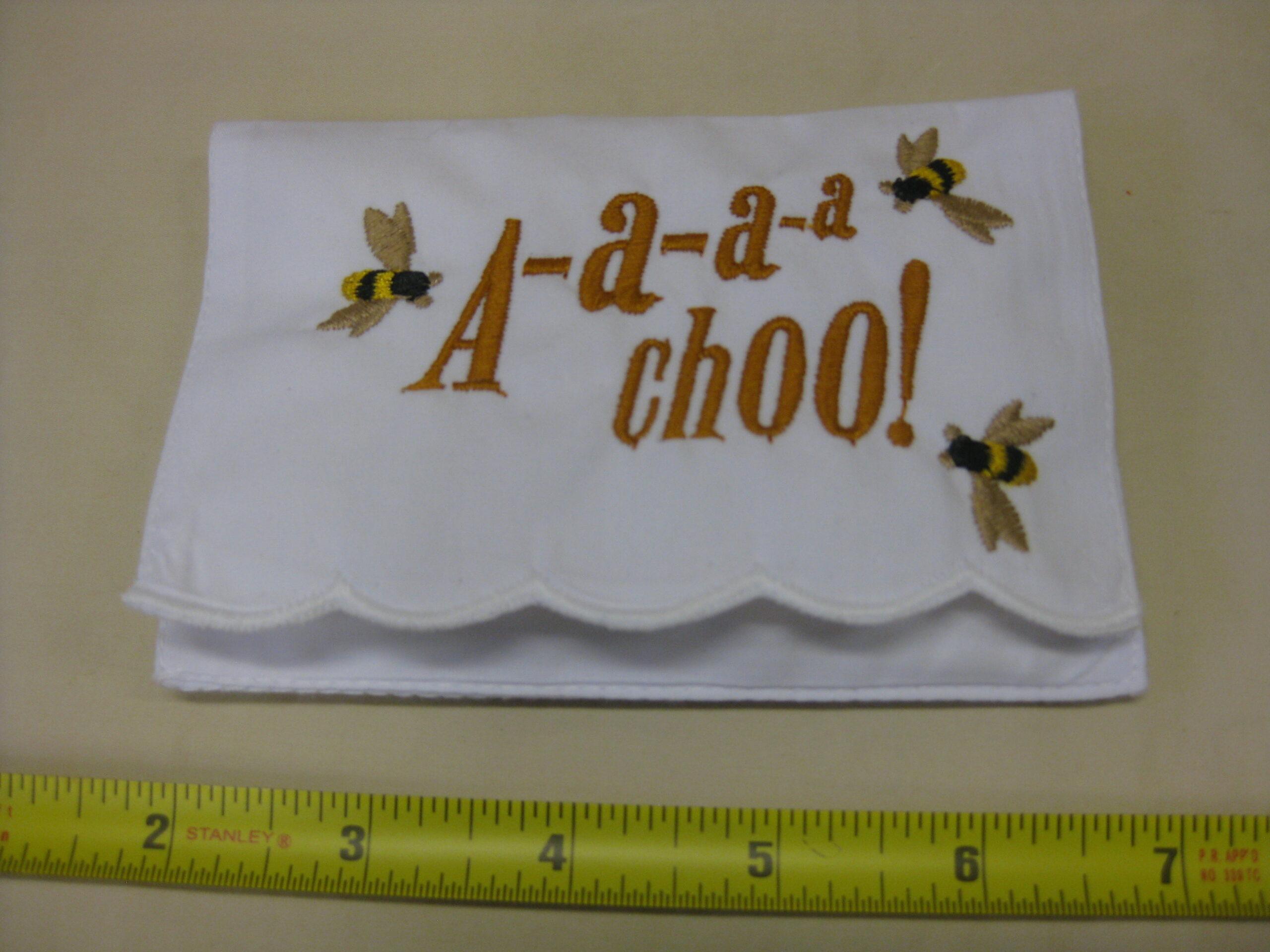 A-a-a-a-choo! tissue holder