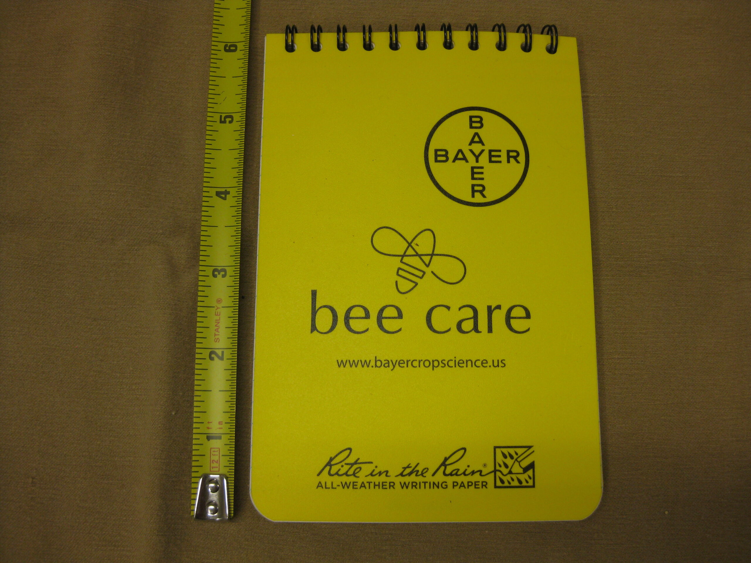 Rite in the Rain Beekeepers Note Pad