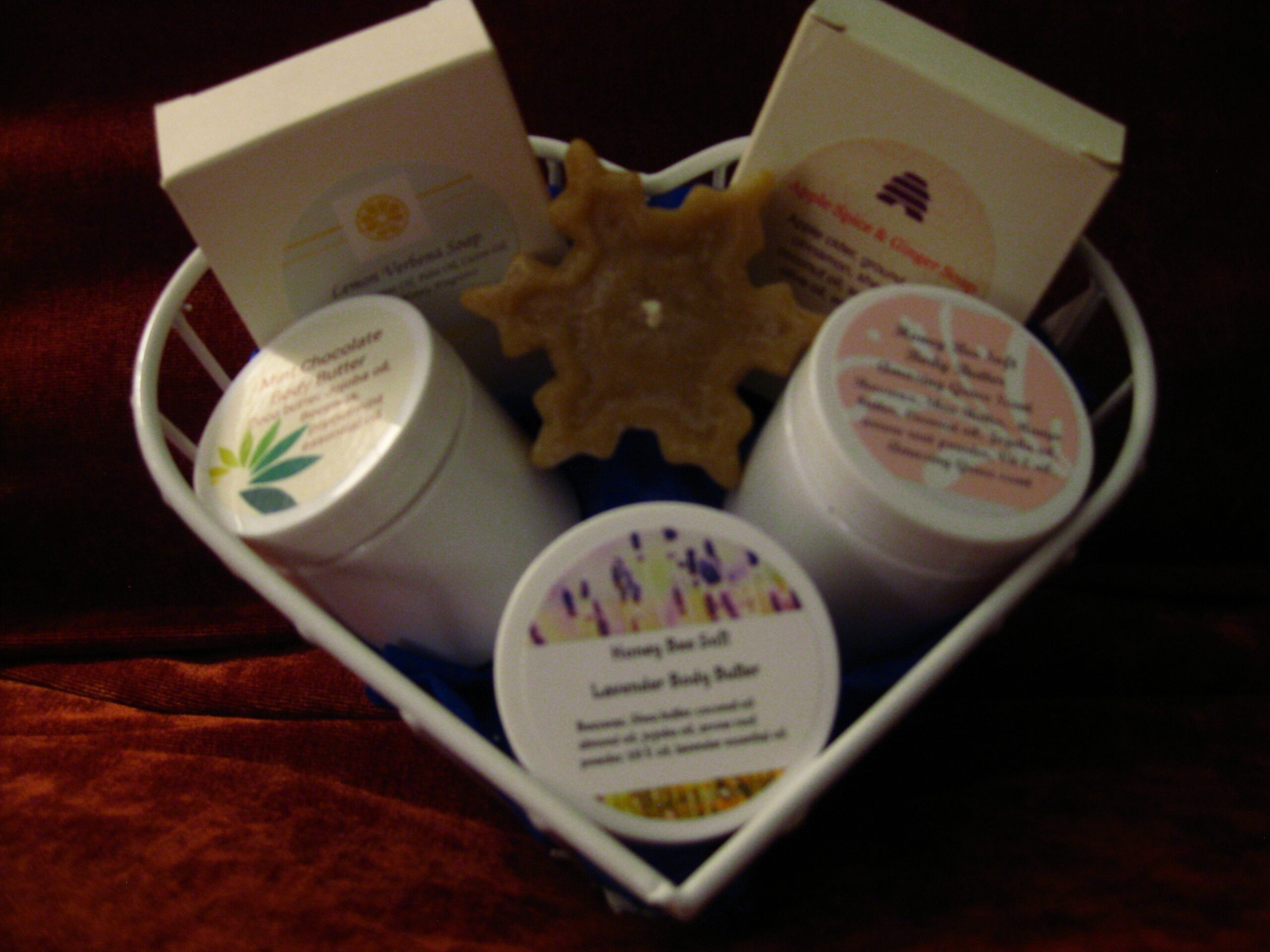 Gift Basket of Wax Products