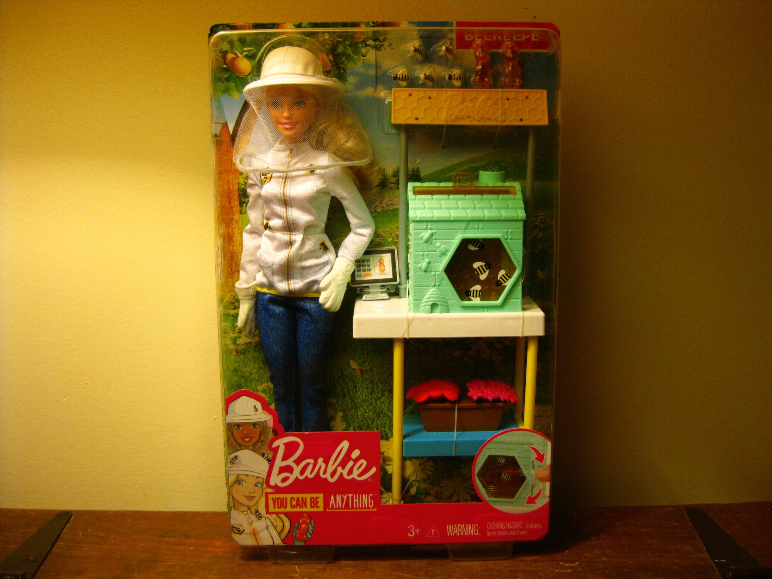 Beekeeping Barbie!