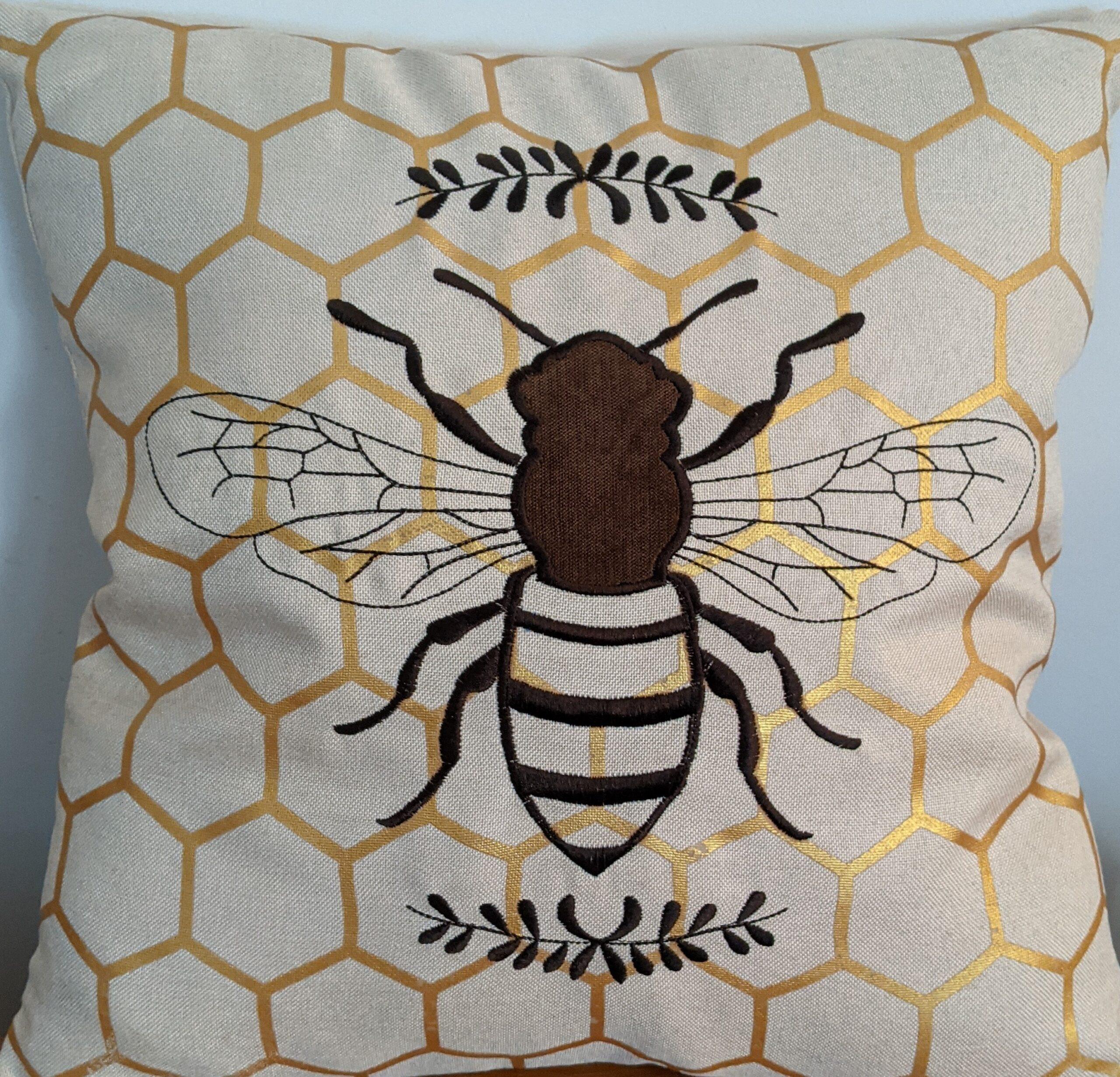 Cutest Bee Pillow Ever